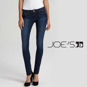 "JOE'S | ""The Skinny"" Mid Rise Dark Wash Jeans"